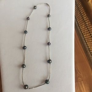 Jewelry - Beaded Silver Chain Necklace